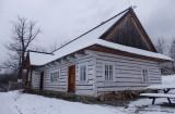 Stara szkoła z Rychwałdu w Żywieckim Parku Etnograficznym, fot. Justyna Michniuk