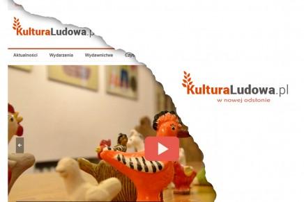 KulturaLudowa.pl w nowej odsłonie!