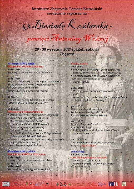 43. Biesiada Koźlarska – pamięci Antoniny Woźnej