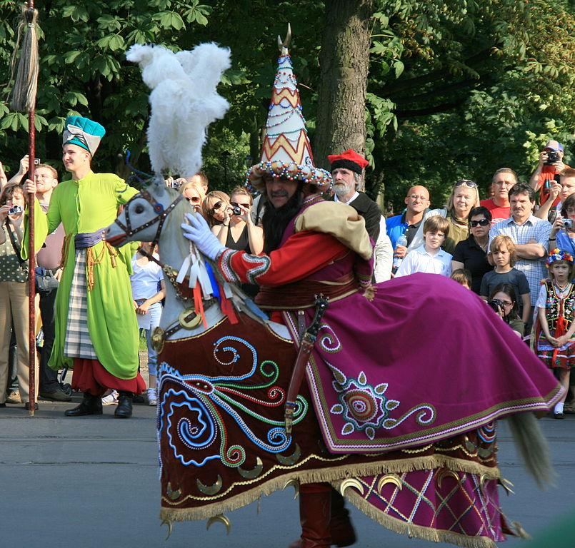 Pochód lajkonika i flisackie tradycje w Ulanowie