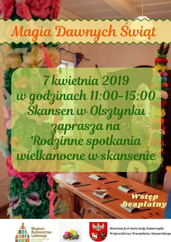 Magia dawnych świąt w skansenie w Olsztynku