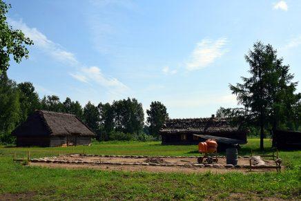 W białostockim skansenie trwają prace nad rozbudową sektora wschodnio-podlaskiego