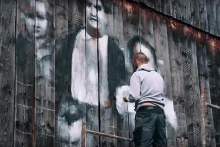 Podkarpacie: Cichy memoriał – wiejska galeria sztuki ulicznej na stodołach