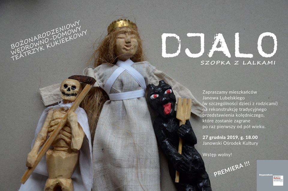 Djalo – szopka z lalkami