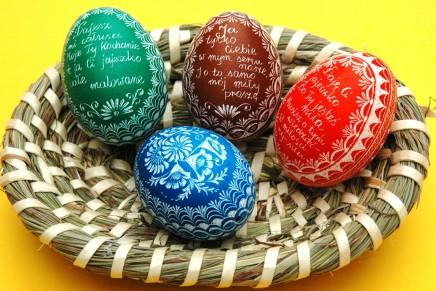 Wielkanocne pisanki, kroszonki, oklejanki [zdjęcia]