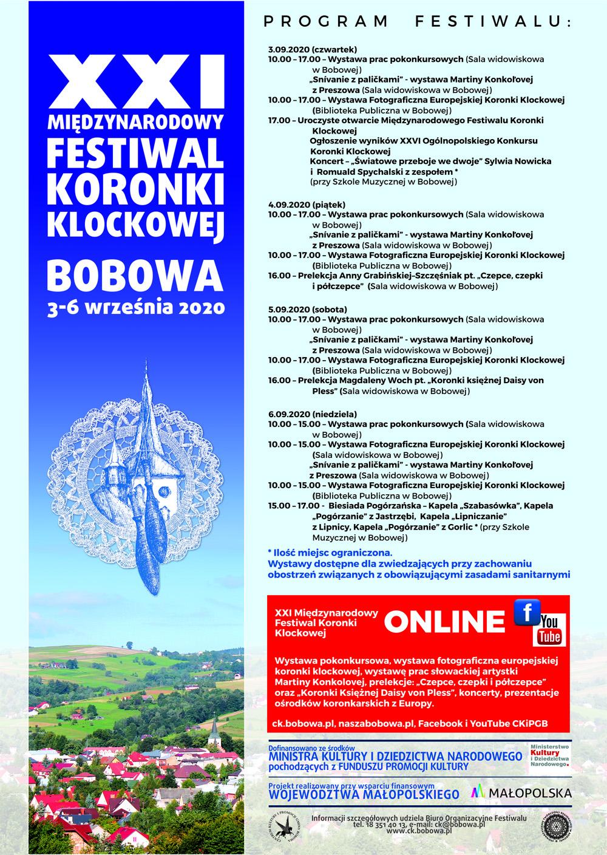 XXI Międzynarodowy Festiwal Koronki Klockowej