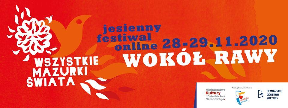 Festiwal Wszystkie Mazurki Świata 2020 online – edycja jesienna