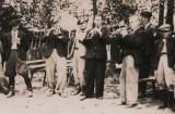 Kapela Wojciechowska, lata 40. XX w. fot. z Archiwum Gminnego Ośrodka Kultury w Wojciechowie