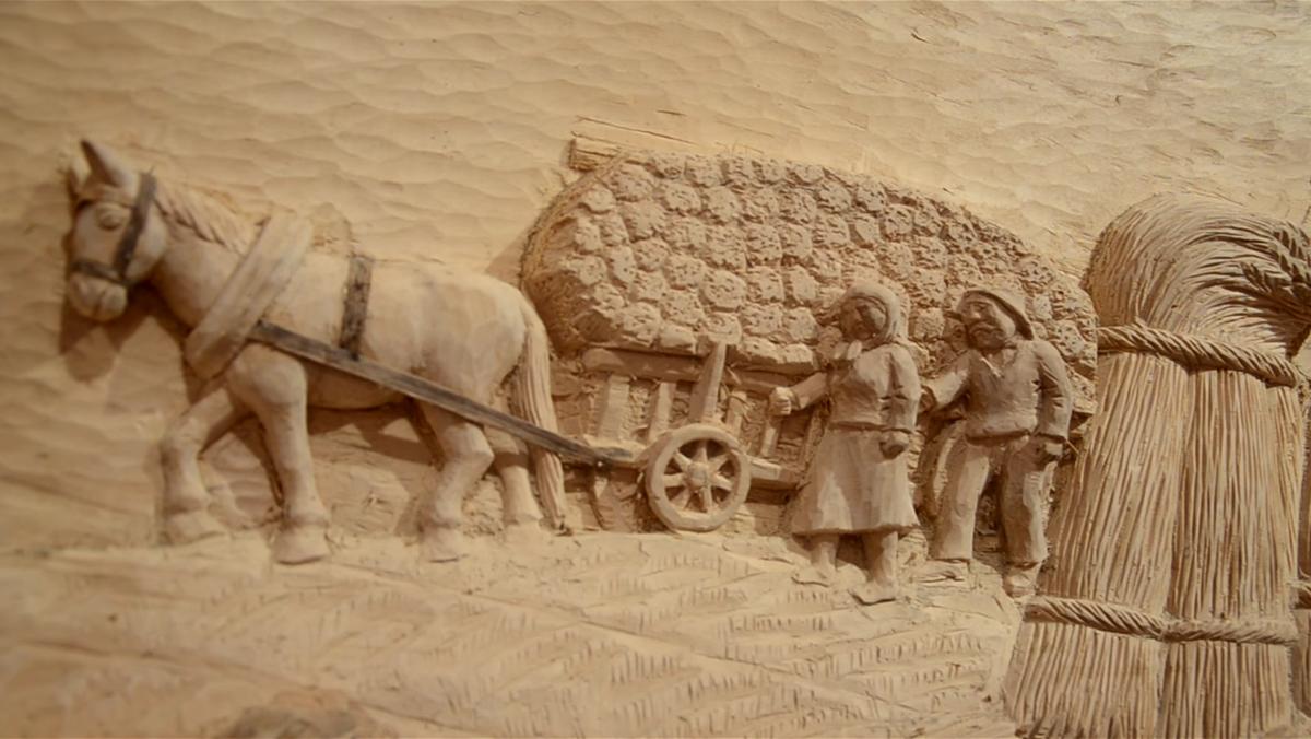 Kazimierz Idzi – rzeźba w drewnie i w kamieniu