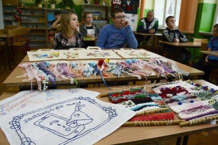 Makatki i inne szmatki – niezwykły projekt w szkole w Orli