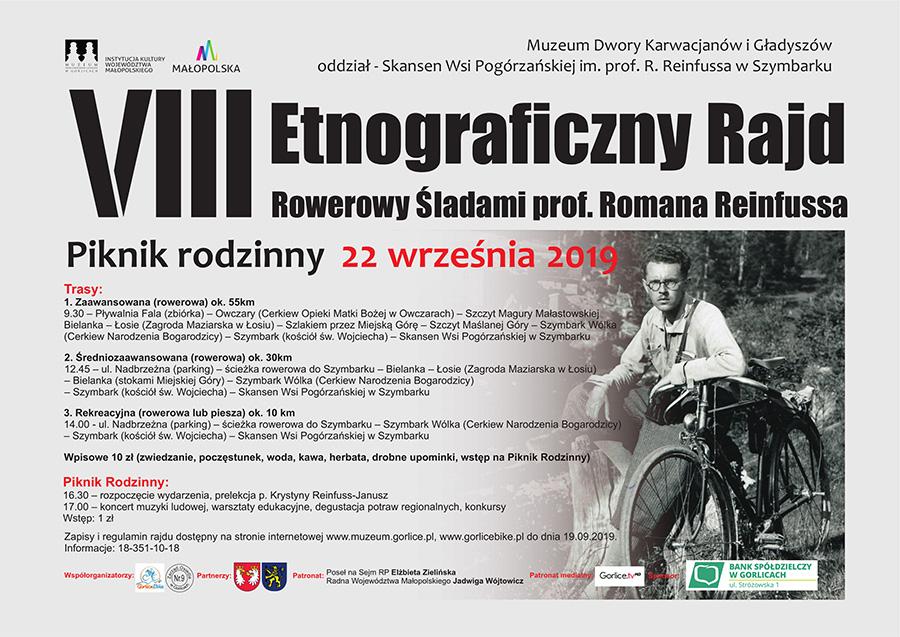 VIII Etnograficzny Rajd Rowerowy Śladami prof. Romana Reinfussa