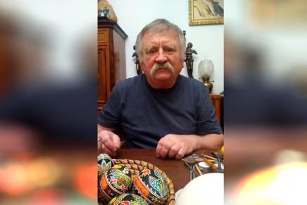 #Zostańwdomu – zrób pisankę! Roman Prószyński pokazuje jak malować pisanki woskiem