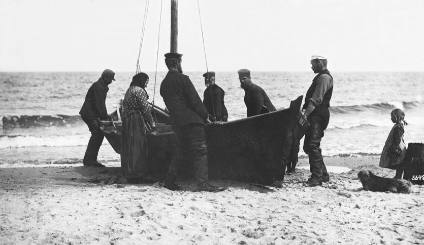Rybacy z przeszłości. Narzędzia i sprzęt rybaków pomorskich