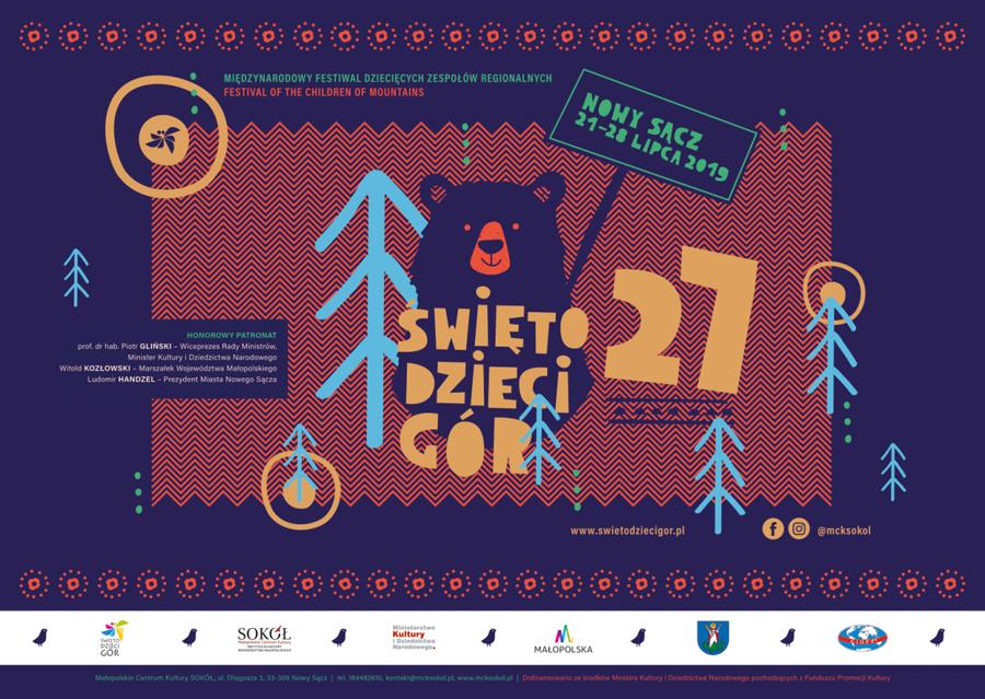 """Międzynarodowy Festiwal """"Święto Dzieci Gór"""" 2019"""