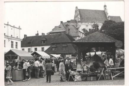 Targi Sztuki Ludowej w Kazimierzu w 1984 roku