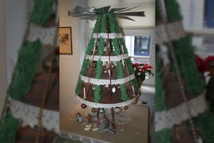 Zanim choinki stały się popularne, na Dolnych Łużycach gościły piramidy bożonarodzeniowe