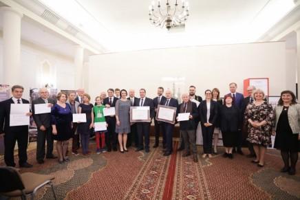 Szopkarze krakowscy odebrali certyfikat UNESCO