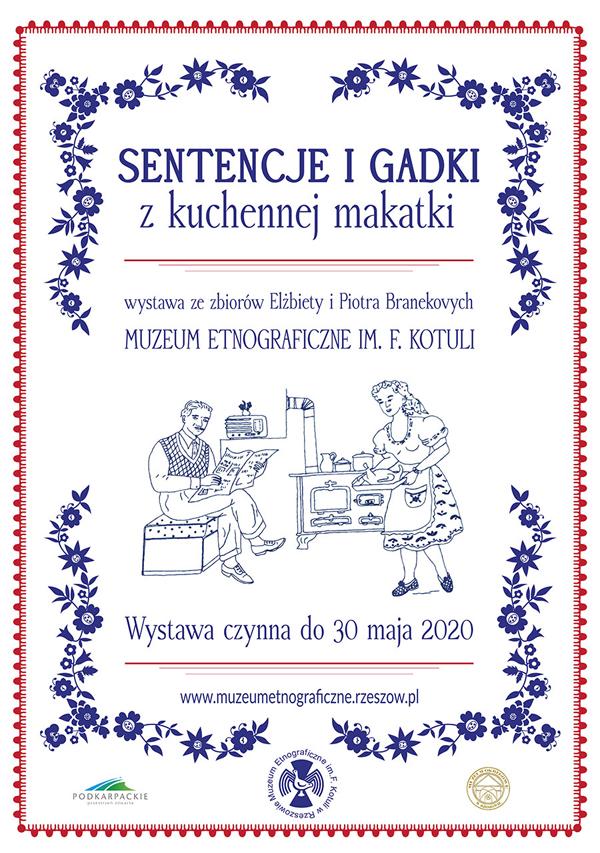 """""""Sentencje i gadki z kuchennej makatki"""" – wernisaż wystawy"""